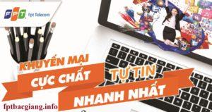 Giá cước mạng FPT Bắc Giang
