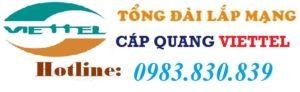 Cáp Quang Viettel Bắc Giang