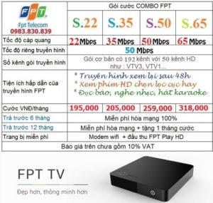 combo mạng và truyền hình